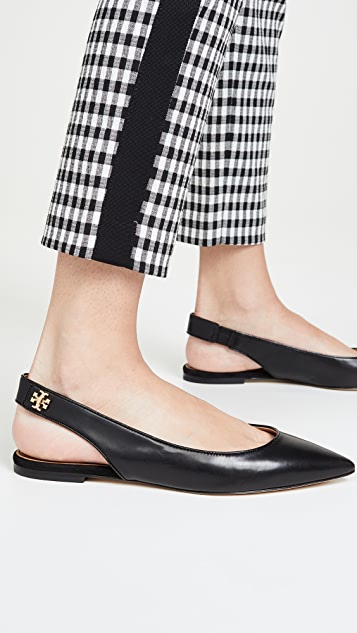 Tory Burch Kira 露跟平底鞋