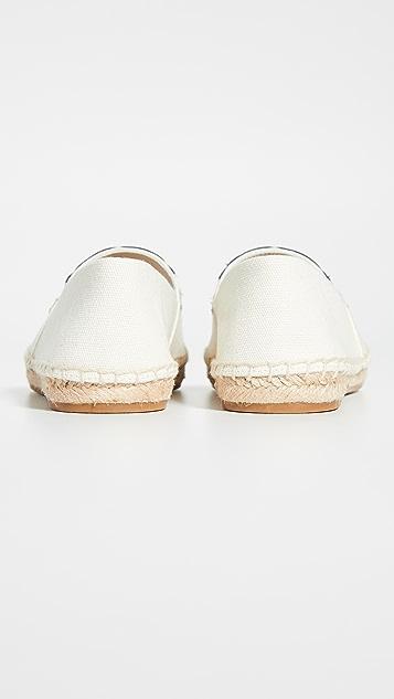 Tory Burch 罂粟编织底便鞋