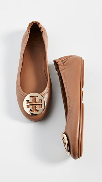 Tory Burch Minnie Travel 芭蕾平底鞋