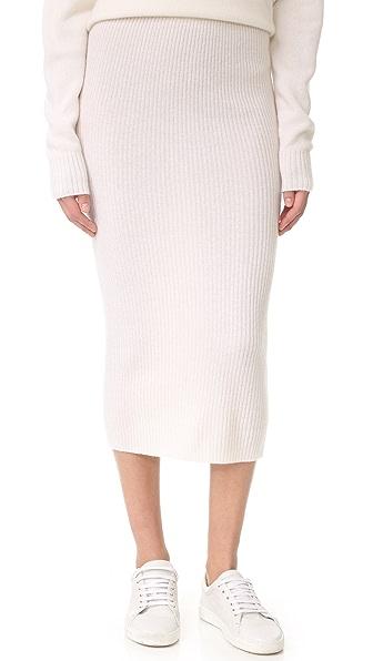 ThePerfext 开司米羊绒半身裙