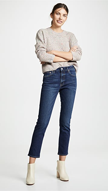 TRAVE Irina 修身九分牛仔裤