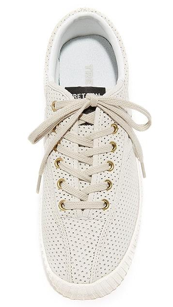 Tretorn Nylite Bold III 多孔厚底运动鞋