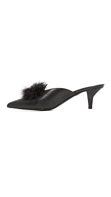 Trademark Suzanne 鹳毛穆勒鞋