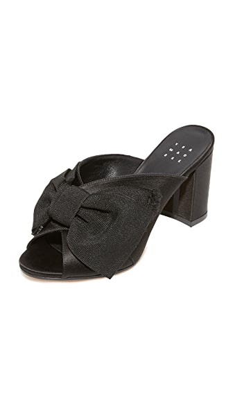 Trademark Madeleine 蝴蝶结穆勒鞋