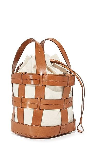 Trademark Cooper 网状绑带手提袋
