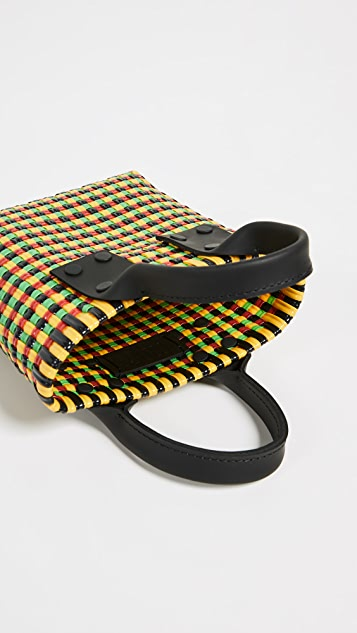 Truss 皮提手微型手提袋