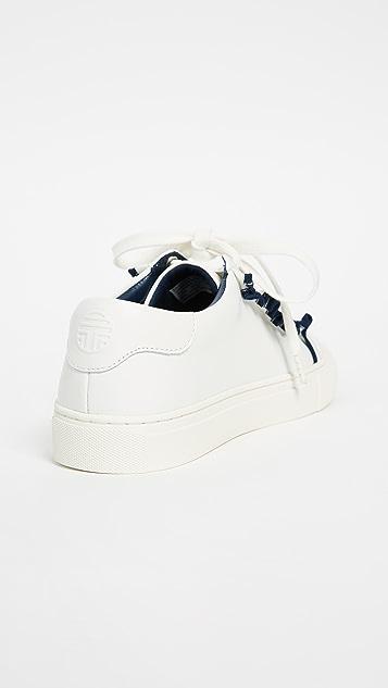Tory Sport 荷叶边运动鞋