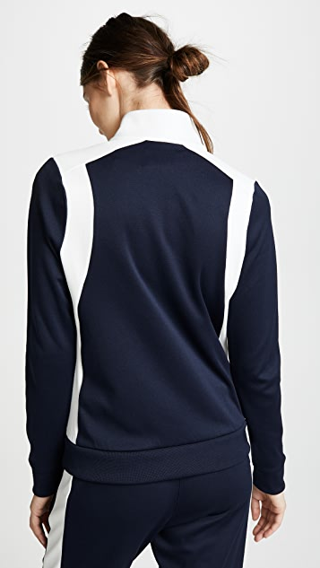Tory Sport 拼色运动外套