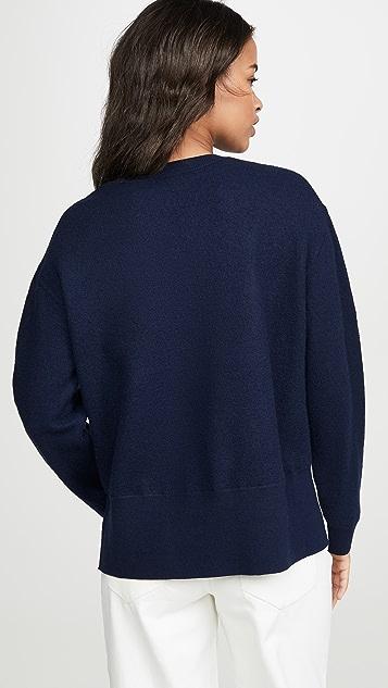 Tory Sport 双条纹套头衫