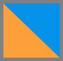 钴蓝/橙色