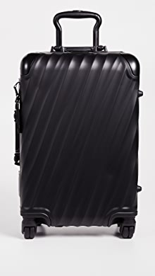 투미 Tumi 19 Degree Aluminum International Carry On,Matte Black