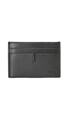 투미 Tumi Nassau Money Clip Card Case,Black