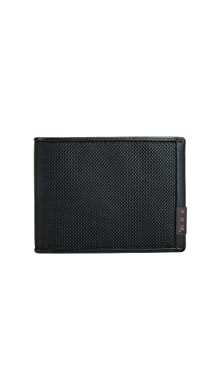 투미 Tumi Alpha Double Billfold Wallet,Black