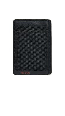 투미 알파 카드 지갑 Tumi Alpha Money Clip Card Case,Black