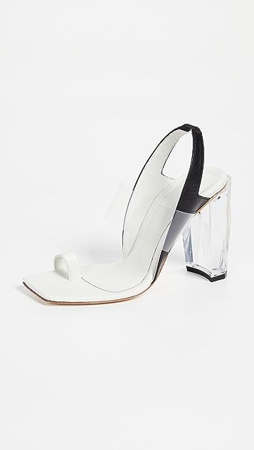 THE VOLON 趾环凉鞋