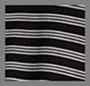 黑色靛青白色条纹