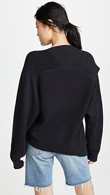 alexanderwang.t 实用 V 领毛衣