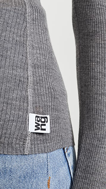 alexanderwang.t Wash & Go 针织 V 领上衣