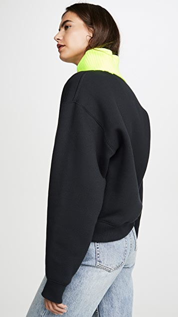 alexanderwang.t 密实绒布运动衫