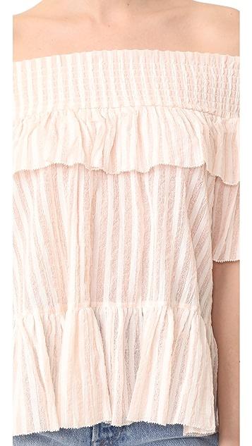 Ulla Johnson Kasia 女式衬衫