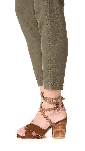 Ulla Johnson Rowena 粗跟高跟鞋