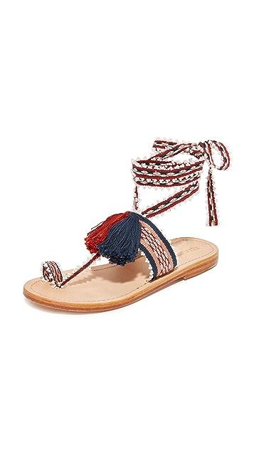 Ulla Johnson Zandra Handloom 凉鞋