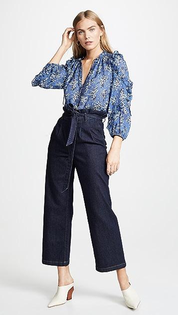 Ulla Johnson Manet 女式衬衫