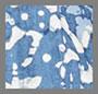 靛蓝色蜡染