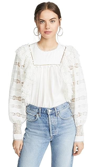 Ulla Johnson Lily 女式衬衫