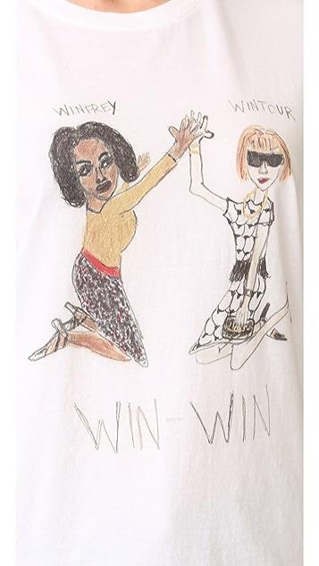 Unfortunate Portrait Win-Win T 恤