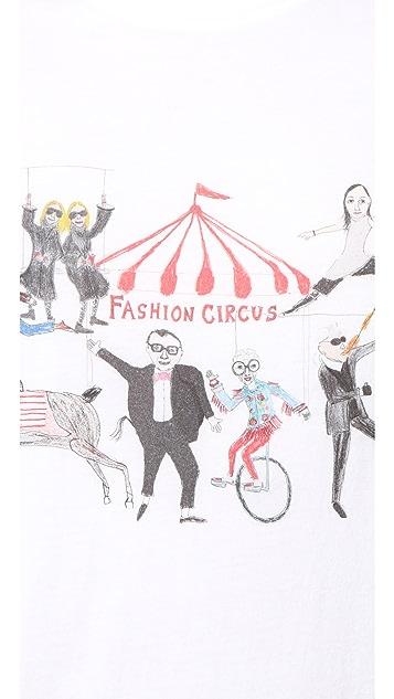 Unfortunate Portrait Fashion Circus T 恤