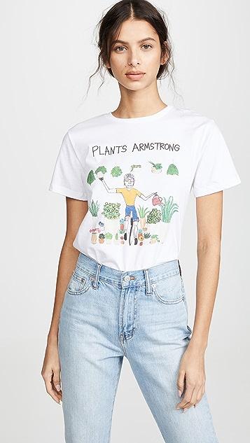 Unfortunate Portrait Plants Armstrong T 恤