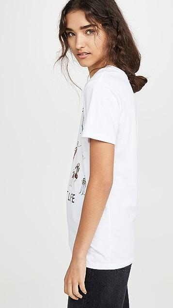 Unfortunate Portrait Vest Life T 恤