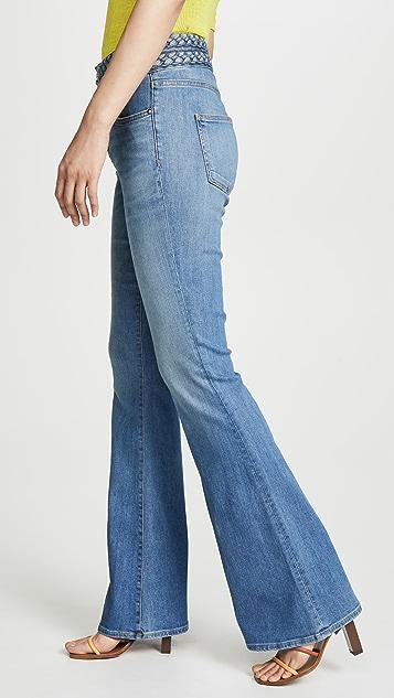 Veronica Beard Jean Beverly 编织喇叭裤