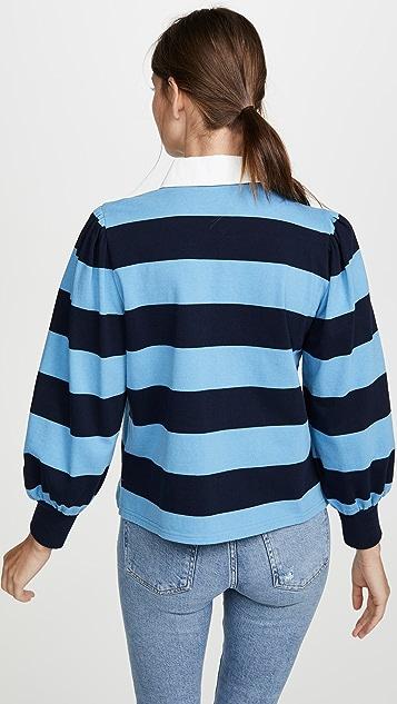 Veronica Beard Jean Presto 橄榄球 T 恤