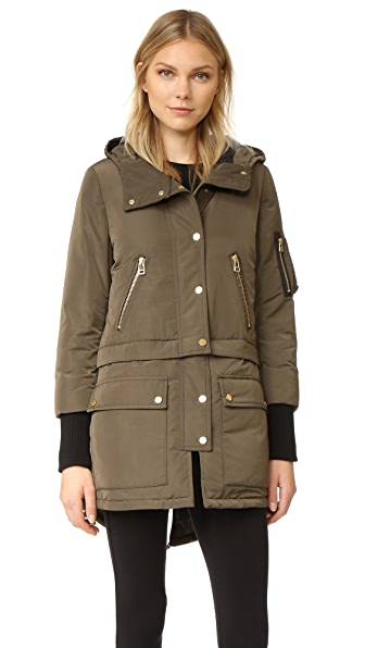 Veronica Beard East End Parka 夹棉大衣
