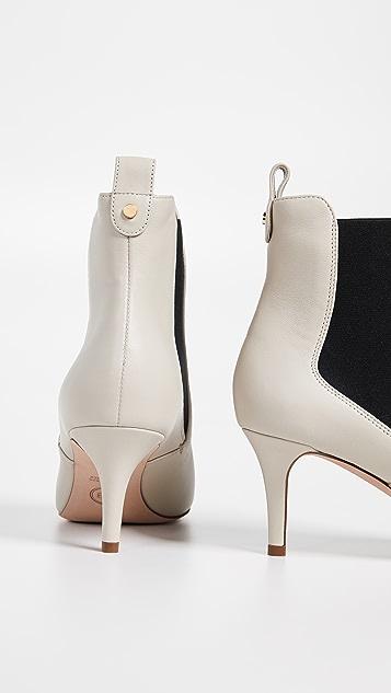 Veronica Beard Parker 方锥矮跟短靴