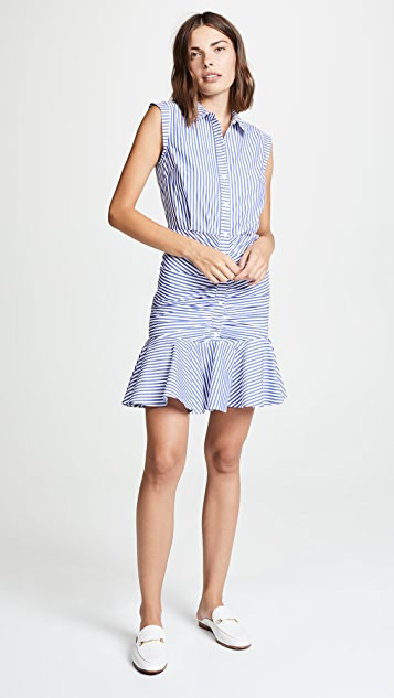 Veronica Beard 皱折连衣裙