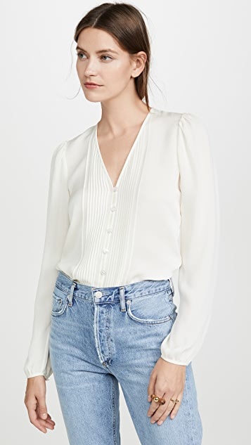 Veronica Beard Lorenzo 女式衬衫