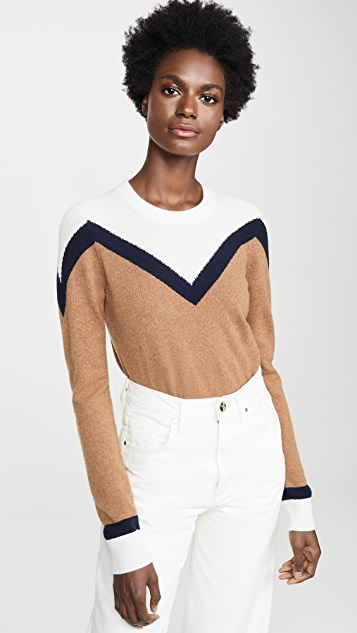 Veronica Beard Bradford 开司米羊绒套头衫