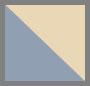 乳白灰褐色/海军蓝