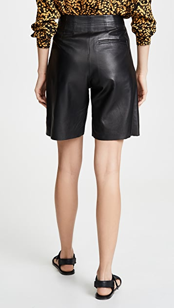 VEDA Milano 光滑皮短裤