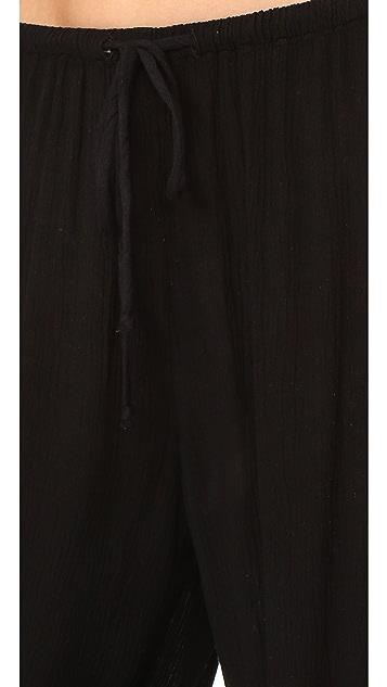 天鹅绒 Nevia 裤子