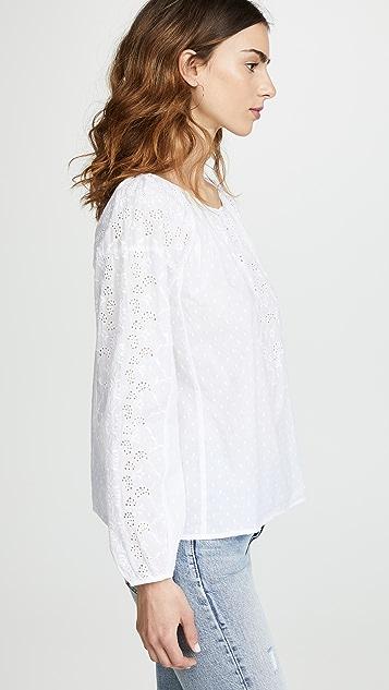 天鹅绒 Victoria 衬衫