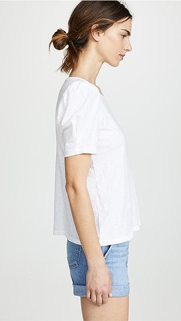 天鹅绒 Whit T 恤