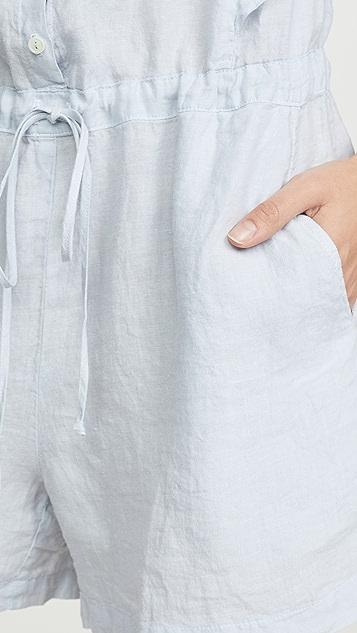 天鹅绒 Francis 短款连身衣