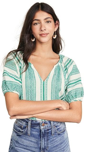 天鹅绒 Halsey 女式衬衫