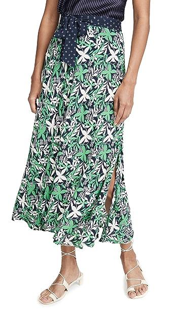 天鹅绒 Susannah 半身裙