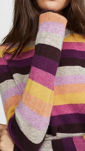 天鹅绒 Mariah 开司米羊绒毛衣