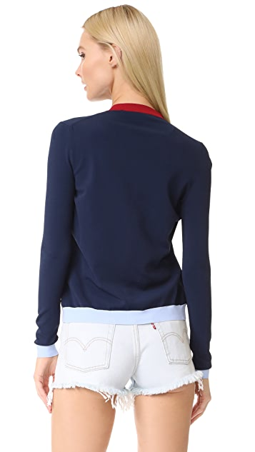 Versace 开襟衫